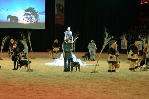 Hunde Musical mit Mica Köppel