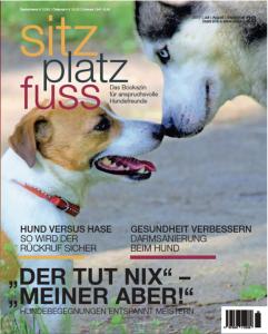 Cover SitzPlatzFuss 28 © cadmos.de