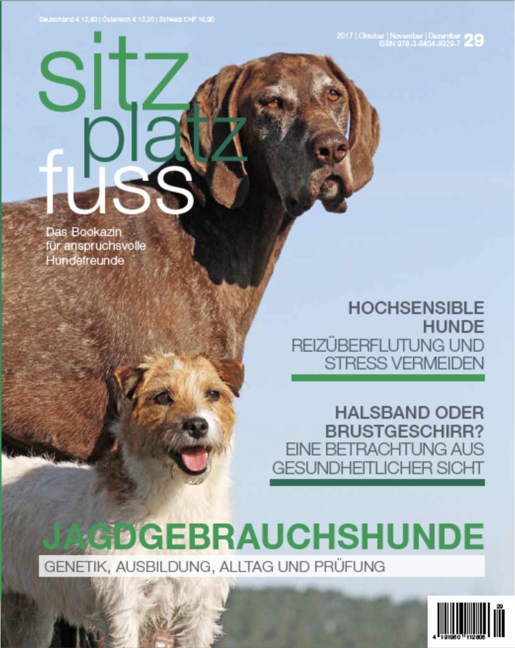 Cover SitzPlatzFuss 29 © cadmos.de