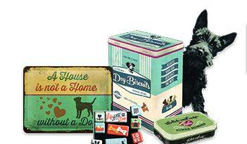 Hund und Katze im Retro Stil – Tierisches von Nostalgic-Art