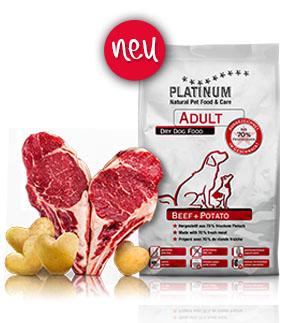 ©Platinum – Adult Beef + Potato